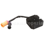 5 wire Double Plug Voltage Regulator for JIANSHE 400cc ATV