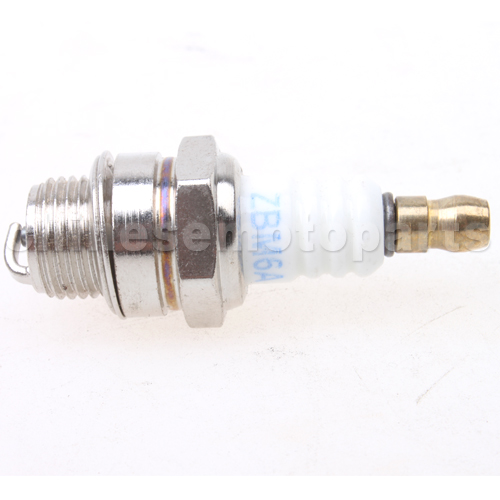ZBM6A Spark Plug for 2-stroke 47cc-49cc Dirt Bike, Pocket Bike