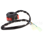 Left Switch Assembly for 50cc 70 cc 90cc 110 cc 125cc 150cc ATVs Quad 4 Wheelers Taotao
