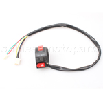 3-Function Left Switch Assembly with Choke Lever for 50cc-250cc