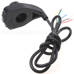 3 function Signal Switch for 24V, 36V, 48V Electric Scooter