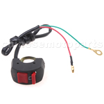 Kill Switch for 50cc-250cc ATV, Dirt Bike & Go Kart