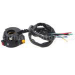 3 function Left Switch Assembly for 50cc-250cc ATV, Dirt Bike &