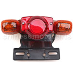 5 Wires Mini Chopper Tail Light Set with Mounting Bracket, Chinese Parts
