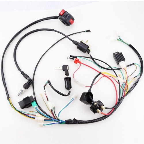 Strange Full Electrics Wiring Harness Coil Cdi 50Cc 70 110Cc Atv Quad Bike Wiring Digital Resources Bioskbiperorg