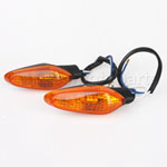 Amber Front & Rear Turning Signal Light for DUCATI 696 796 STREEFIGHTER MTS 2011