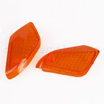 Amber Rear Turning Signal Light cover for KAWASAKI ZZR250