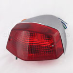 Red Lens Rear Taillight for HONDA STEED400 STEED 400