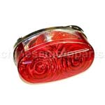 Atv Quad Rear Tail Light Parts 110cc 125cc 150cc SUNL ROKETA TAOTAO BAJA KAZUMA