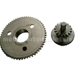 Dual Gear for GY6 150cc ATV, Go Kart, Moped & Scooter