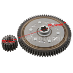 67 Teeth Primary Driven Gear With 18 Teeth Driving Gear Set for