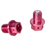 High Performance Aluminum Alloy Oil Drain Bolt for Dirt Bike