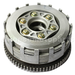 Clutch Assembly for CB250cc Water-cooled ATV, Dirt Bike & Go Kar