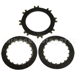 Single-Automatic Clutch Plate Set for 50cc-125cc ATV, Dirt Bike