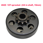 "5.5Hp 6.5Hp Clutch Mini Baja Mini Bike #420 Clutch 3/4"" Warrior 196cc MB165 MB200"