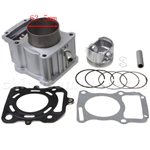 Cylinder Body Assembly for CG200cc Water-cooled ATV, Dirt Bike &