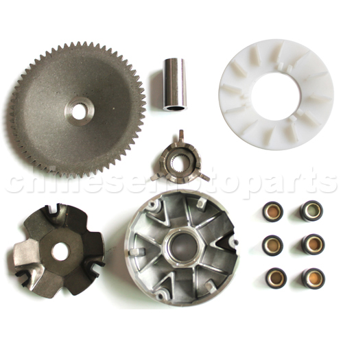 QMB/139 GY6 50cc Engine part Variator Scooter Moped ATV GO KART