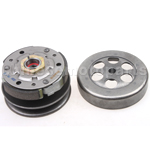 Driven Wheel Assy for 2-stroke 50cc Moped & Scooter