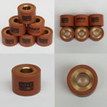 KOSO HIGH PERFORMANCE VARIATOR ROLLERS 15g 18X14mm for Chinese GY6 125cc 150cc 152QMI 157QMJ