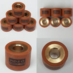 HIGH PERFORMANCE VARIATOR ROLLERS 16g 18X14mm for Chinese GY6 125cc 150cc 152QMI 157QMJ