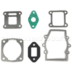 Pocket Bike Gaskets--47cc--49cc-Gasket Set--6 Piece set Brand New