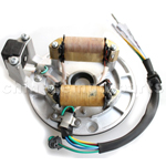 2 Coil Magneto Stator for 50cc 70cc 90cc 110cc 125cc Taotao Kazuma SSR Baja Kick Start Dirt Bike