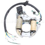 2-Coil Full-Wave Magneto Stator for 50cc-125cc Electrical Start ATV, Dirt Bike & Go Kart