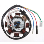 Magneto Stator Gy6 125cc 150cc 8 coil 8 Pole 5 wire ATVS Go Kart Scooters