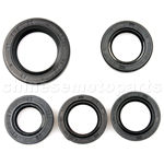 Scooter Oil Seal Set GY6 50cc Chinese Scooter Parts Crankshaft Oil Seal 139QMB