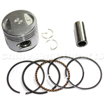 Piston Assembly for GY6 50cc Moped