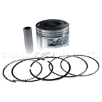 Piston Assembly for CG 200cc ATV, Dirt Bike & Go Kart