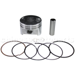Piston Assembly for CG 250cc ATV, Dirt Bike & Go Kart