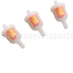 3 pc Gas Fuel Filter Go Kart Moped Scooter Dirt Bike ATV TaoTao SUNL chinese