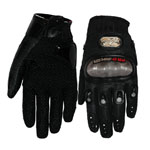 Pro-biker BLACK Motorcycle Motorbike Motocross Racing Cycling Full Finger Gloves