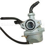 KEIHIN 19mm Carburetor of High Quality with Hand Choke for 110cc