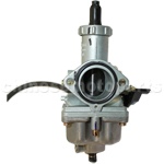 KEIHIN 30mm Carburetor with Hand Choke for 200cc-250cc ATV, Dirt Bike & Go Kart