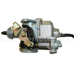KEIHIN 30mm Hand Chock Carburetor with Acceleration Pump for 200cc-250cc ATV, Dirt Bike & Go Kar
