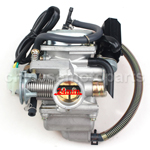 KEIHIN 24mm Carburetor for GY6 125cc-150cc ATV, Go Kart, Moped & Scooter