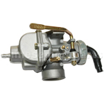 KUNFU 20mm Carburetor with Hand Choke for 110cc ATV, Dirt Bike & Go Kart