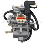 KUNFU 30mm Carburetor for CF250cc ATV, Go Kart, Moped & Scooter