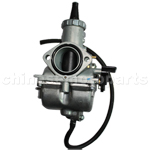 MIKUNI 30mm Carburetor with Hand Choke for CG/CB 200cc-250cc ATV, Dirt Bike & Go Kart