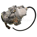 Carburetor with Cable Choke for 300cc-400cc ATV & Go Kart