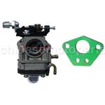 X1 X2 X7 49CC POCKET BIKE GS MOON CARBURETOR R1 FS509 FS529 43cc 49cc NEW CARB
