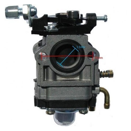 15mm Carburetor for 47cc 49cc 2 Stroke Mini Pocket Bike Quad