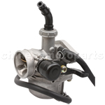 19mm Carburetor with Right Hand Choke for 50cc-110cc ATV, Dirt Bike & Go Kart