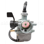 19mm Carburetor with Left Hand Choke for 50cc-110cc ATV, Dirt Bike & Go karts and moped