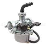 19mm Carburetor with Hand Choke for 50cc,70cc,90cc,110cc ATV, Dirt Bike & Go Kart