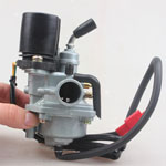 CARBURETOR FOR 2-STROKE 50cc SCOOTERS WITH JOG MOTORS HAS AUTO CHOKE