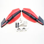 Red 22mm and 28mm Handlebar Hand Guard Handguard Dirt Pit Bike Motorcycle ATV CRF YZF WRF KXF KL
