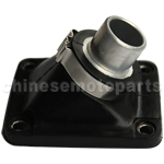 Intake Pipe for 2-stroke 39cc water-cooled Pocket Bike